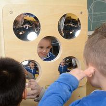 Masterkidz 鏡子趣味板