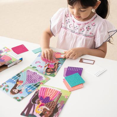 Sticky Mosaics 馬賽克拼貼旅遊包-公主