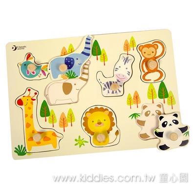 Classic World 可愛動物拼板