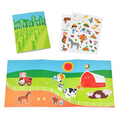 APLI 旅遊貼紙-小農夫種菜去