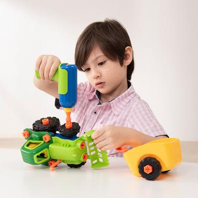 EDU-TOYS 小小工程師-農場牽引車