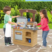 Little Tikes 野營燒烤廚房