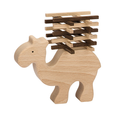 goki 原木駱駝疊疊樂