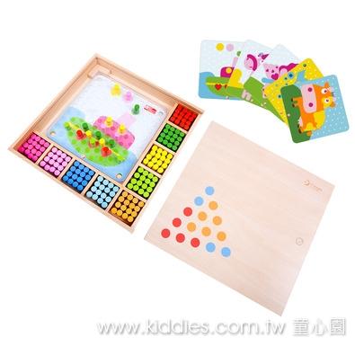 Classic World 木釘配色遊戲盒