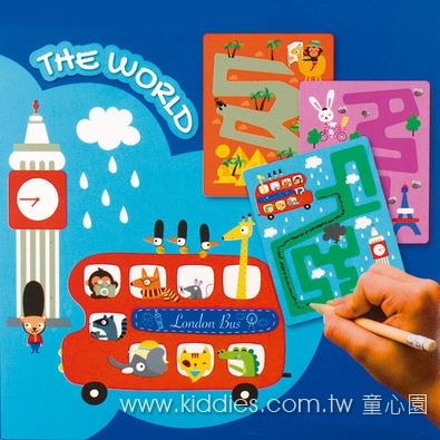 APLI 旅行遊戲卡 - 世界迷宮