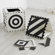 Weplay創意遊戲墊 - 黑白