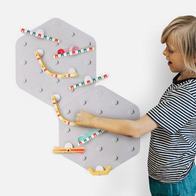 ORIBEL 滾球軌道牆面壁貼-基礎