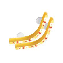 ORIBEL 滾球軌道壁貼-彎曲軌道
