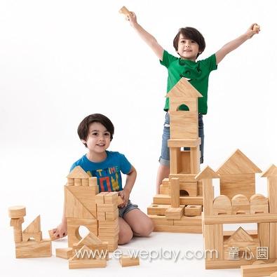 Weplay 軟質木紋積木 - 152件