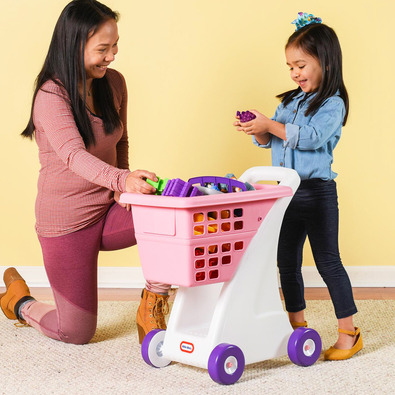 Little Tikes 兒童購物車-粉