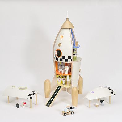 Classic World 宇宙探險號火箭