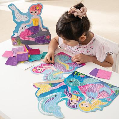 Sticky Mosaics 馬賽克拼貼-美人魚