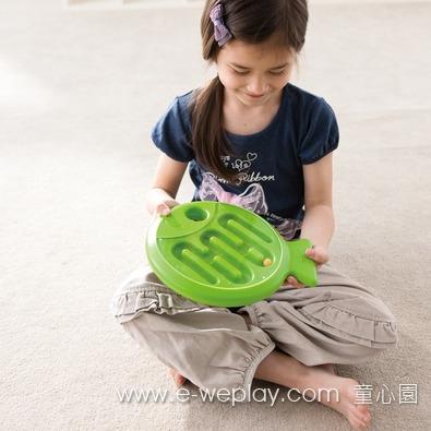 Weplay手部平衡魚 - 綠