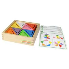Masterkidz 顏色形狀對對碰 - 三角形